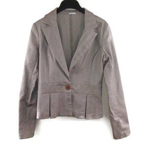 Luxe Fitted Blazer Suit Jacket Fitted Flared Waist